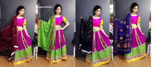 4714ad039284ed Aglarepop Rani Embroidered Chaniya Choli at Rs 1200 /piece(s ...