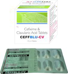 Cefixime 50mg Clavulanic Acid 28.5mg
