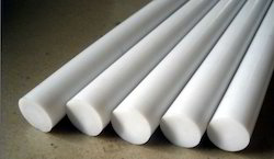 PPI White PTFE Rods, Size: 5-200 mm