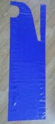 Blue Plain Non Woven Medical Apron, For Hospital, Size: Large