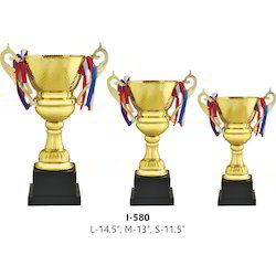 Metal Self Design Cups Trophy