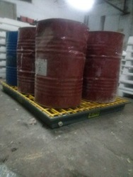Six Drum Spill Containment Pallet