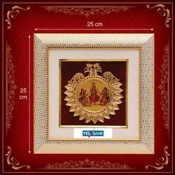 Golden Foil Frem Decorative Picture Frame, For Gift