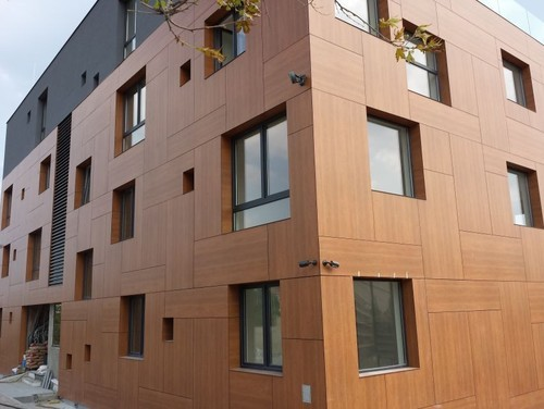 Exterior Wooden Cladding at Rs 400 /square feet | Navyug Market ...