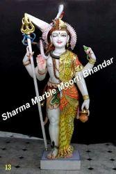 Marble Ardhnareshwar Statues