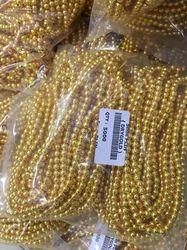 Brass Beads 5mm Plain Beads