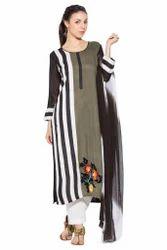 Latest Designer Party Wear Ladies Long Suit