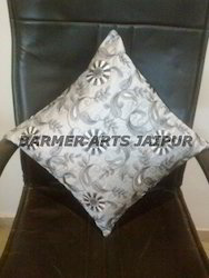 Cushion Cover Silk Embroidery