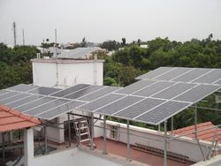 Gird Connected Roof Top Solar