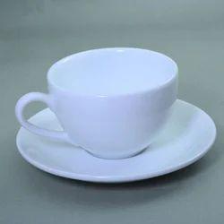 Stallion Tableware Superwhite PRCL 182 Cappuccino Cup, Size: 260 Ml, Capacity: 260 Ml