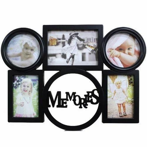 Black Plastic Photo Frames at Rs 550 /piece(s)   Plastic Photo Frame ...
