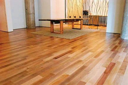 Cedar And Grey Wooden Laminated Flooring Sundek Interio Private