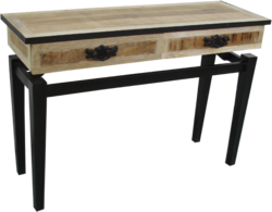 Industrial Console Table - Industrial Furniture