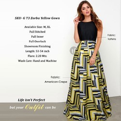 47382d691be8 Printed Gowns - Exclusive Designer Gowns Manufacturer from Surat