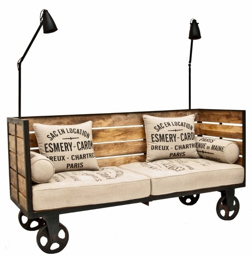 Cart Sofa With Cushion Cart Sofa With Cushion