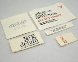 Woven Labels - Fabric Labels Manufacturer from Mumbai