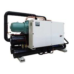 Capacity: 60 TR Fully Automatic Air Cooled Screw Chiller, 460 volt AC