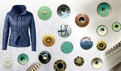 Alloy & Brass Buttons for Garments Or Apparel