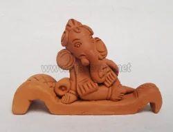 Clay Artistic Devan Ganesha