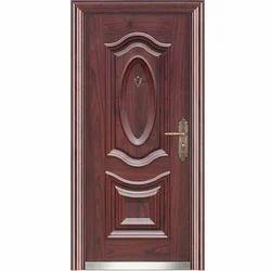 wood steel door