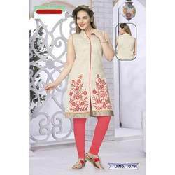 Ladies Designer Embroidered Kurti