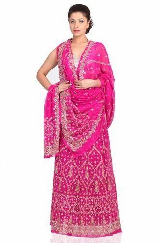 4ada912b16d Pink Bridal Lehenga Choli