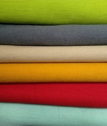 Plain Color Cotton Flex Fabric