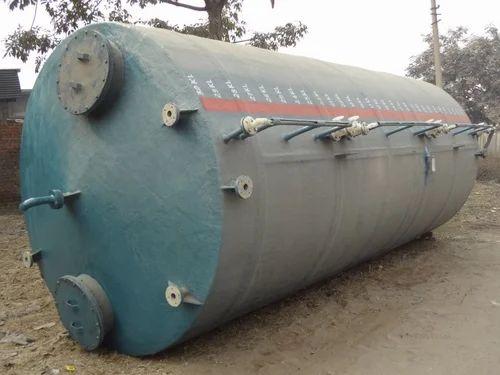 Mild Steel Vertical Storage Tanks