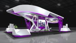 Decoration Exhibition Stall Designing Services, For Trade Fair, Pan India