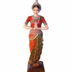 FRP Dance Lady Statue