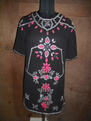 Black Short Kurta