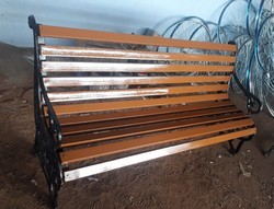 Cast Iron Outdoor Bench