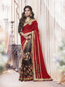 Multicolor Shaded Saree