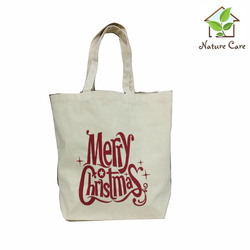 Canvas Christmas Bag