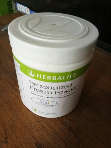 Muscle Building Herbalife Personalized Protein Powder, Packaging Type: Plastic Container