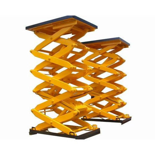 Pit Mounted Scissor Lift