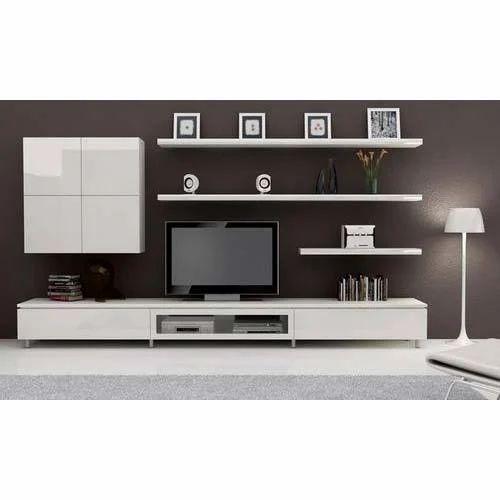 modern tv unit size 146 x 146 x 47 cm rs 2000 square feet sharma enterprises id 12462931230. Black Bedroom Furniture Sets. Home Design Ideas