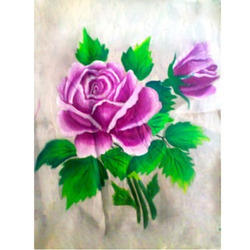 Flower Fabric Painting Service