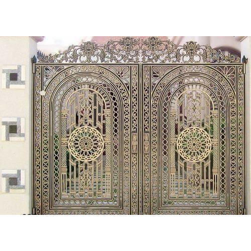 Home Design Gate Ideas: Cast Iron Design Gate At Rs 3000 /square Feet
