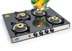 Four Burners Stove Silver GL 1048 GT FBB, For Cooking
