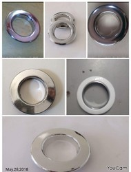 Curtain Silver Plating Rings