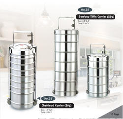 Part 2 Stainless Steel Lunch Box