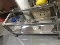 Steel Square Table