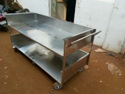 Stainless Steel trolley for Malls/Mart