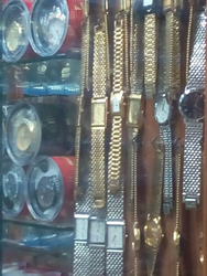 Gold Color Chain Gents Watch