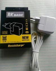 White RK Magic 2.1 Amp Charger