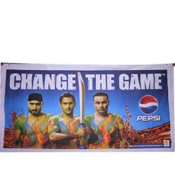 Cloth Banner Printing Service, Dimension / Size: 6x3