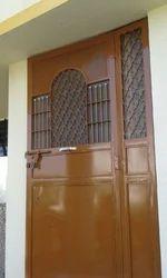 Brown Safety Door