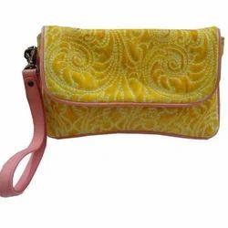 Ladies Yellow Envelop Bag
