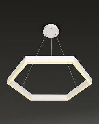 hexagon hanging led light light emitting diode hanging light acme